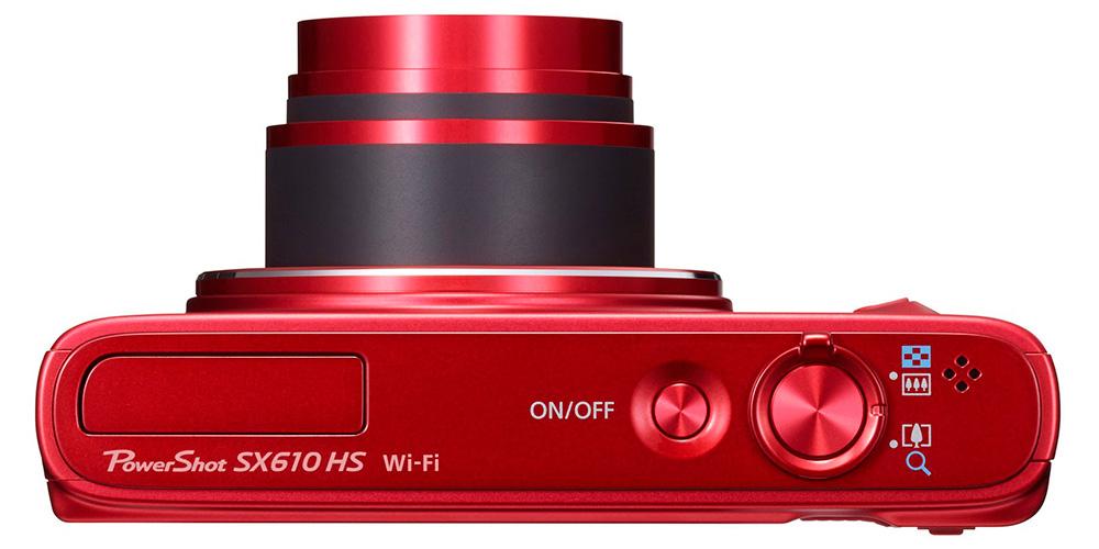 Canon PowerShot SX610 HS: Аккумулятор камеры показывает достаточно хорошие результаты - 730 кадров и около 100 минут видеосъемки.