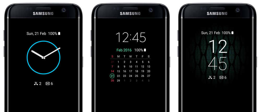Samsung Galaxy S7 Edge: Технология Always on Display в действии.