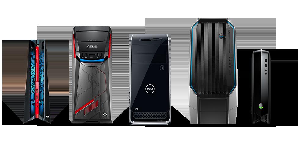 Группа игроков: это компьютеры «Oculus Ready» от компаний Alienware, Asus и Dell