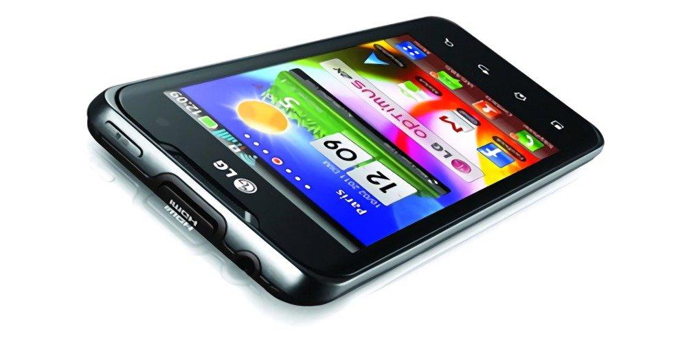 Смартфон LG 2X оснащается отдельным портом Micro HDMI для подключения к телефизору