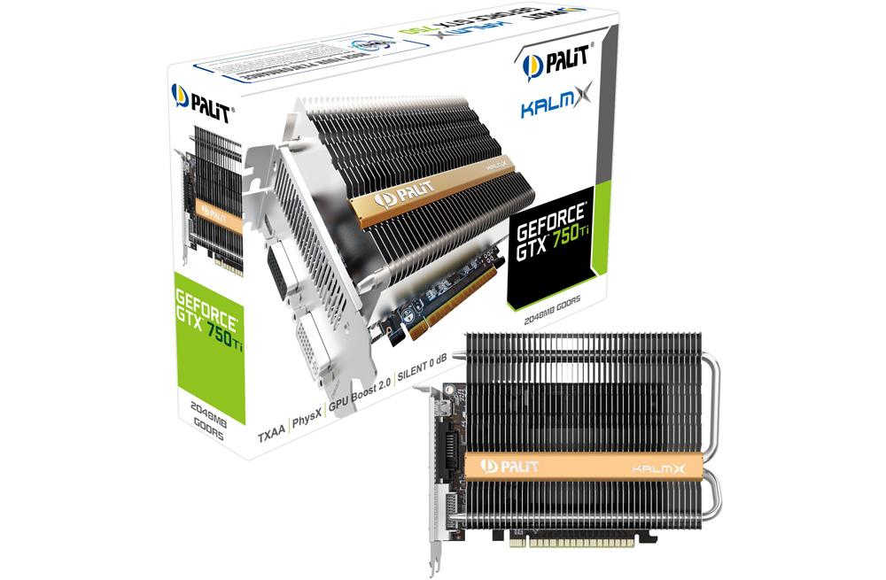 Palit Geforce GTX 750 Ti Kalm X: эта гармошка — пассивное охлаждение GPU.