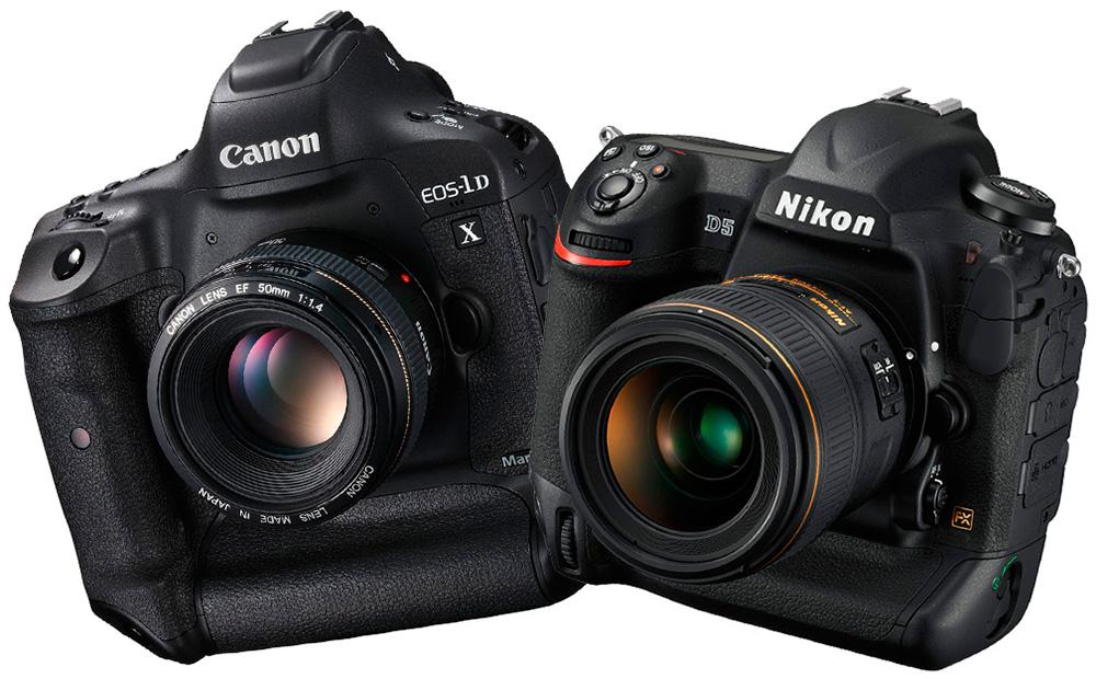 Nikon D5 vs. Canon EOS-1D X Mark II