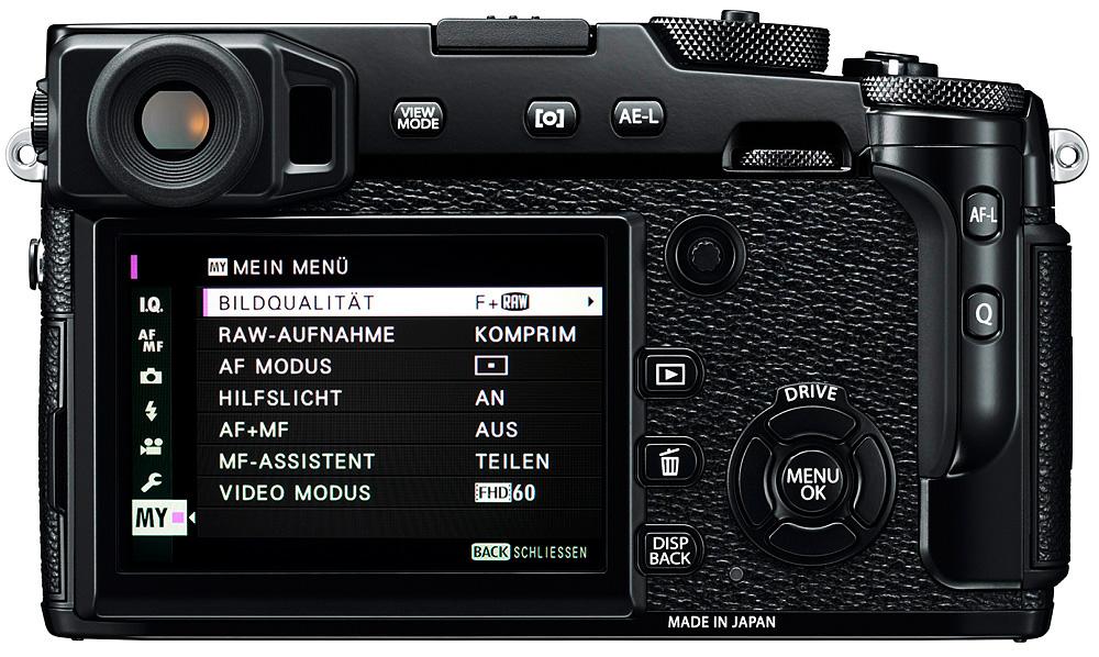 Fujifilm X-Pro2: Беззвучный электронный затвор работает со скоростью до 1/32 000 секунды!