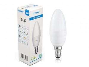 Tiwin LED Candle E14 5W 470lm
