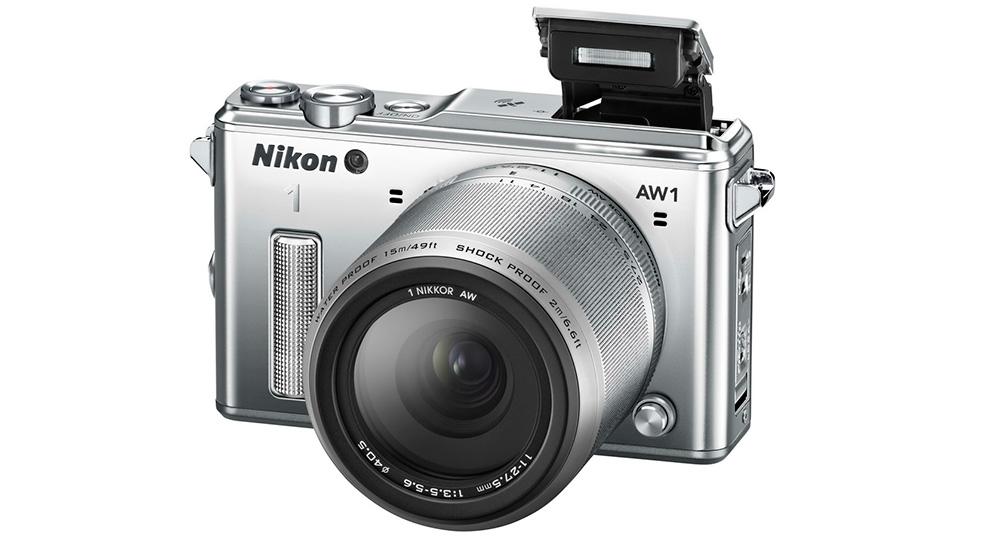 Защищенные камера: фотокамера Nikon 1 AW1 — надежный беззеркальный фотоаппарат.