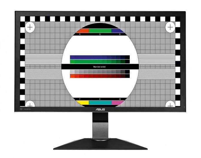 Обнаружение битых пикселей и калибровка монитора