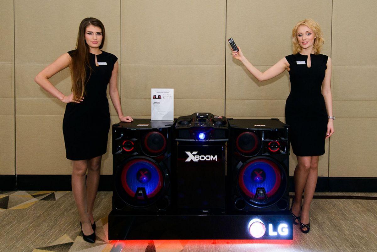 Cупермощные минисистемы LG X-Boom с DJ-эффектами