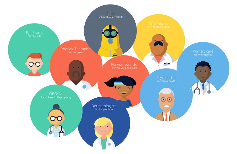 Oscar Health: Американский стартап Oscar хочет модернизировать систему здравоохранения и делает ставку на врачебные приемы через Интернет. К тому же предполагается использование клиентами фитнес-трекеров, данные с которых анализирует Oscar.