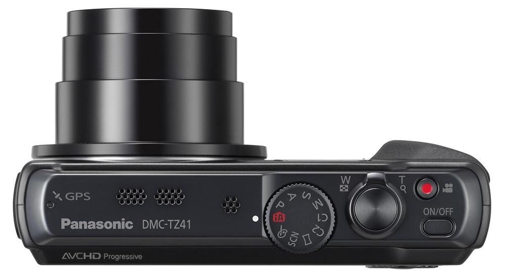 Panasonic DMC-TZ41: Кнопки спуска для фото- и видеосъемки находятся рядом.
