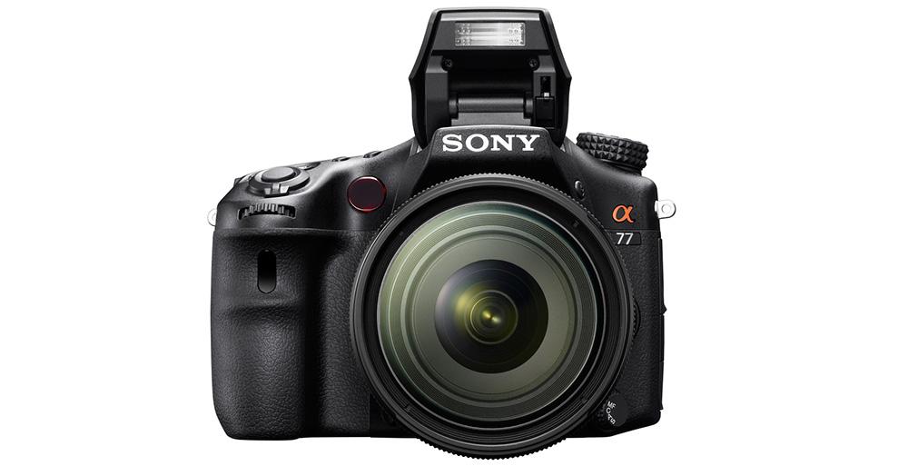 Sony Alpha SLT-A77: Представительский класс с матрицей APS-C.