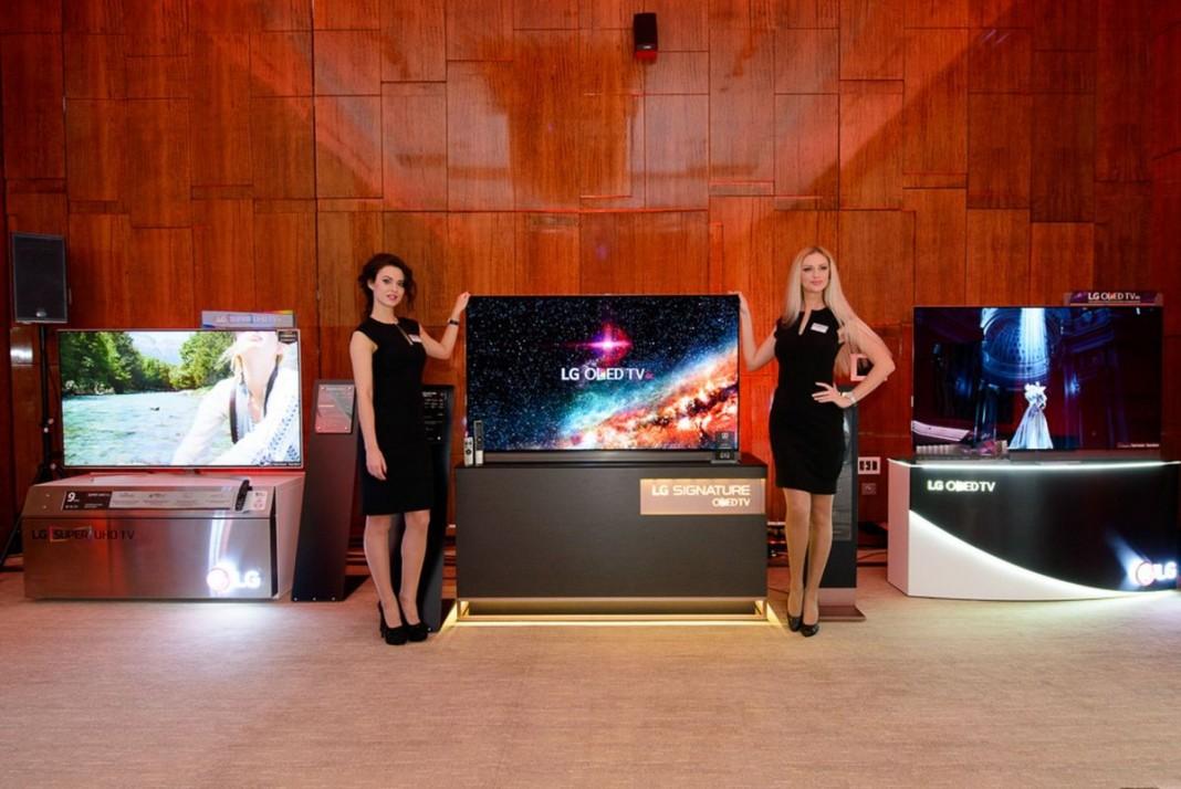 Компания LG представила новейшие образцы аудио- и видео- техники