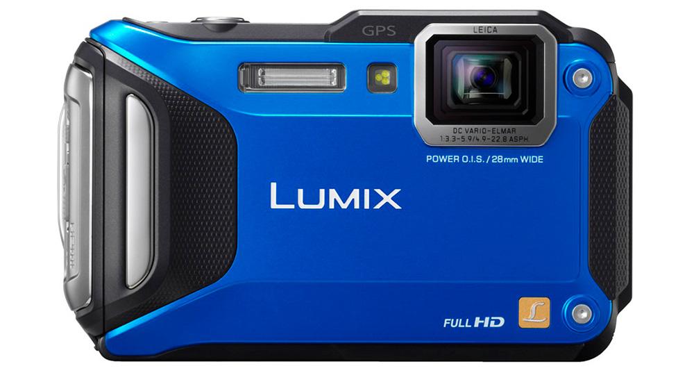 Защищенные камеры: Лучшая камера для подводной съемки — Panasonic Lumix FT5.