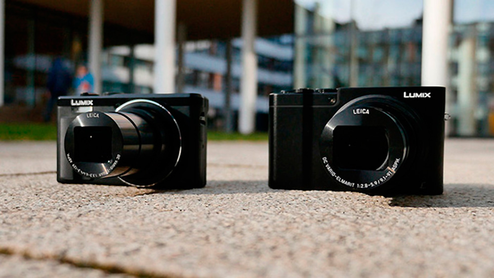 Цифровые камеры с дюймовым сенсором