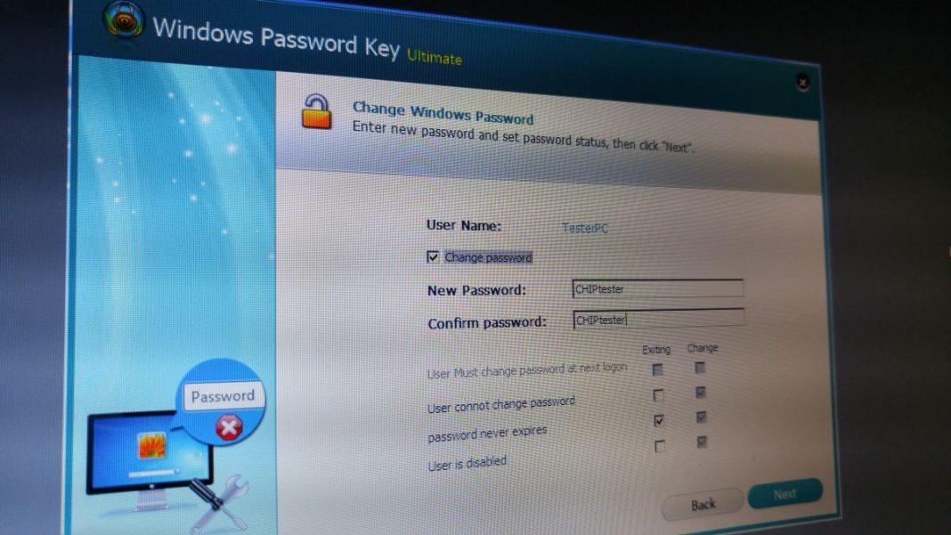 Скачать программе по сбросу паролей