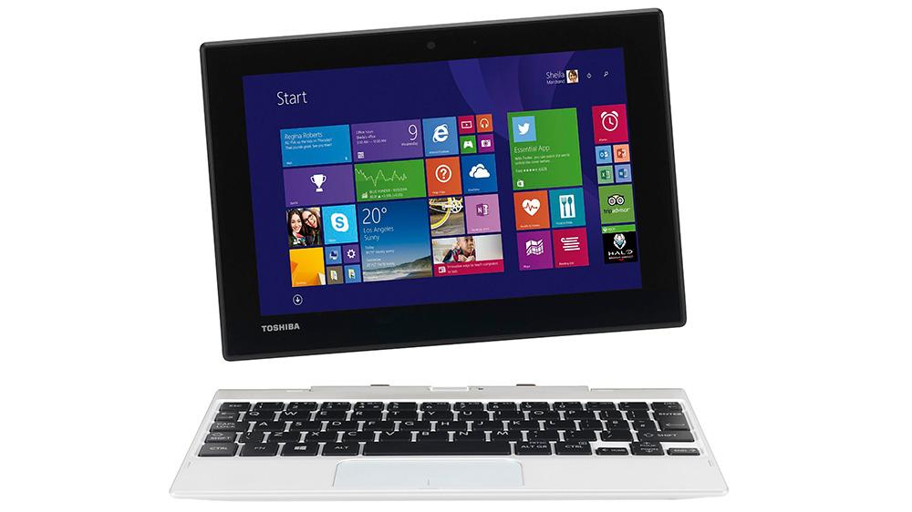 Toshiba Satellite Click Mini L9W-B-100: планшет формата «2 в 1» с разрешением Full HD.