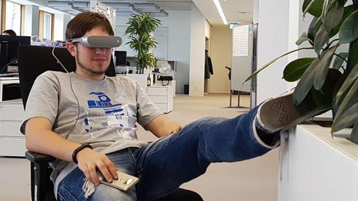 LG 360 VR: Пожалуй, самые компактные VR-очки на рынке