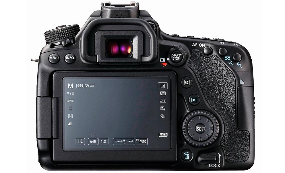 Canon EOS 80D: Многочисленными опциями можно управлять непосредственно с сенсорного экрана.