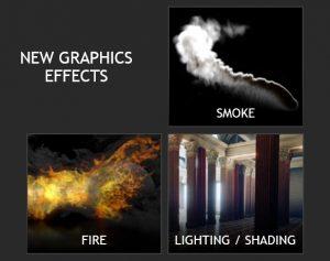 Больше частиц, больше света: NVIDIA рекламирует красочные эффекты