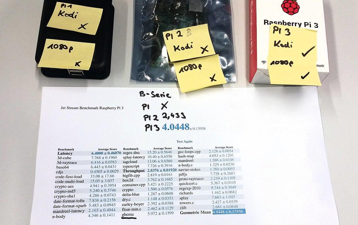 Наши инженеры из европейского испытательного центра Chip были восхищены Raspberry Pi 3.
