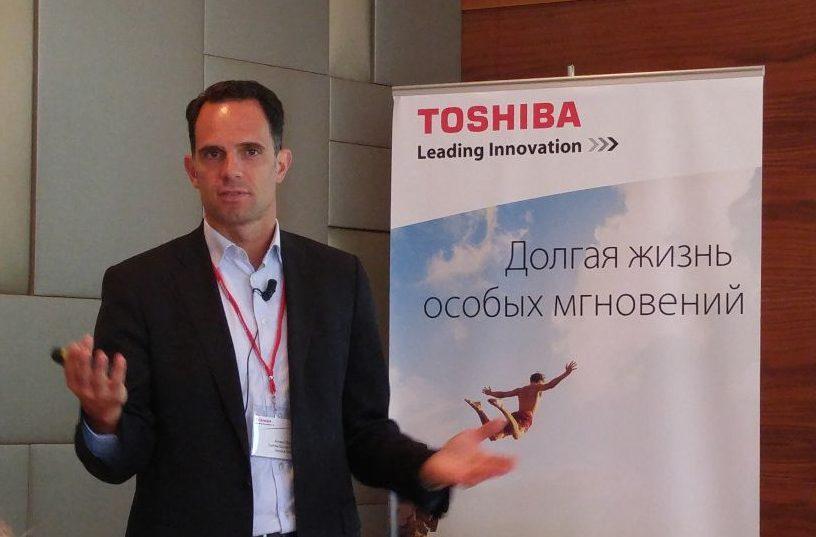 Арно Бонварле, генеральный директор департамента систем хранения данных Toshiba Europe