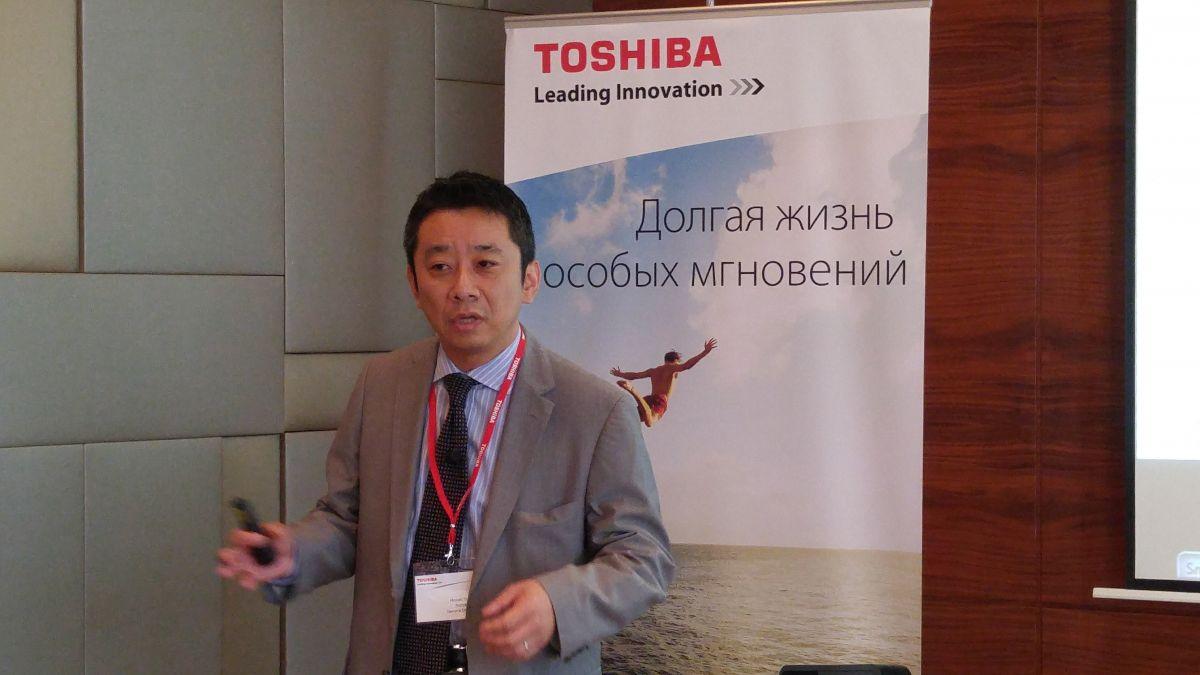 Хироаки Тезука, генеральный директор российского представительства Toshiba – компании «Тошиба Рус»