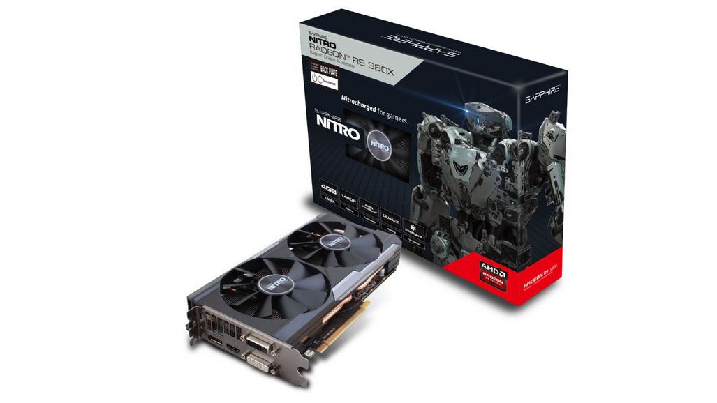 Sapphire Radeon R9 380X Nitro 4GB GDDR5