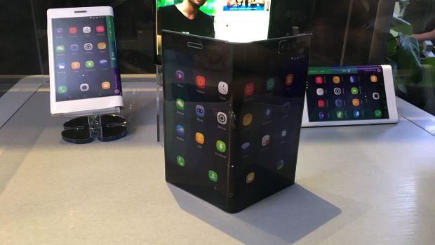 Folio: этот планшет можно сложить до размеров смартфона