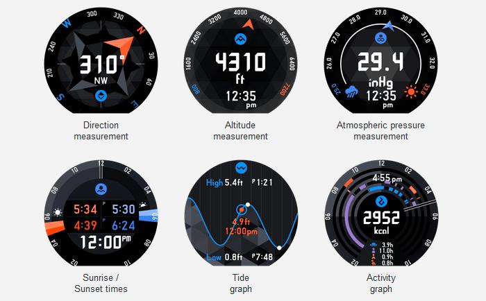Умные часы Casio: инструментарий идеален для любителей путешествий.
