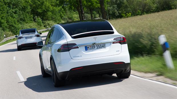 Tesla Model X: кроссовер от компании Tesla поставляется только с полным приводом