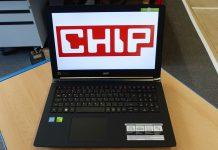 Acer Aspire V15 Nitro BE: хорошая производительность — к сожалению, лишь с обыкновенным жестким диском.
