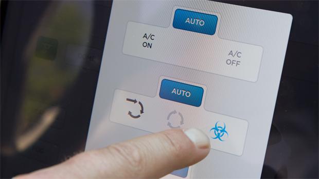 Tesla Model X: в меню можно найти режим вентиляции, который должен обеспечить особенную чистоту воздуха в салоне