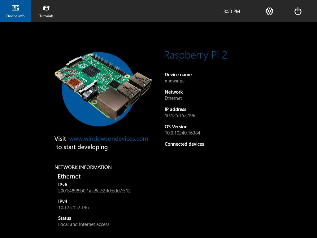 Windows 10: Если вам привычнее работать в ОС от Microsoft, ничто не помешает установить ее и на свой Raspberry Pi 3.