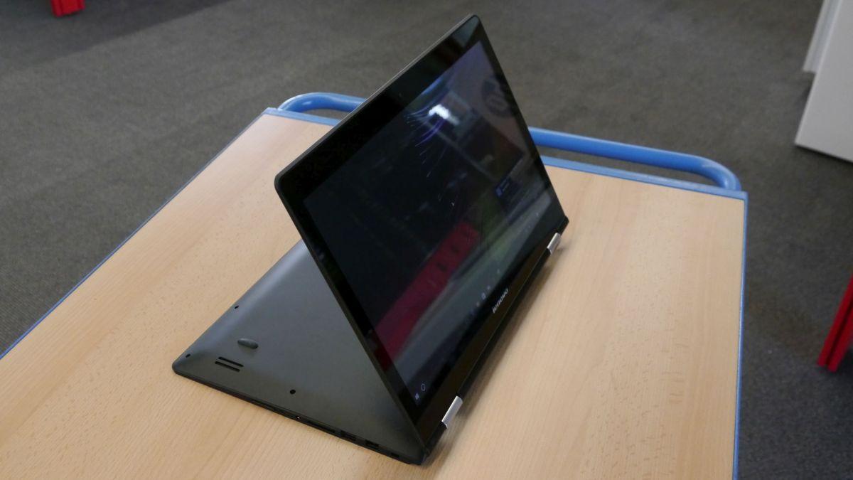 Lenovo Yoga: 360-градусный шарнир