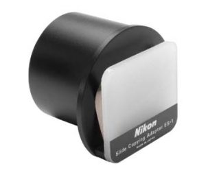 Nikon ES-1 представляет собой адаптер для объективов, предназначенный для оцифровки слайдов