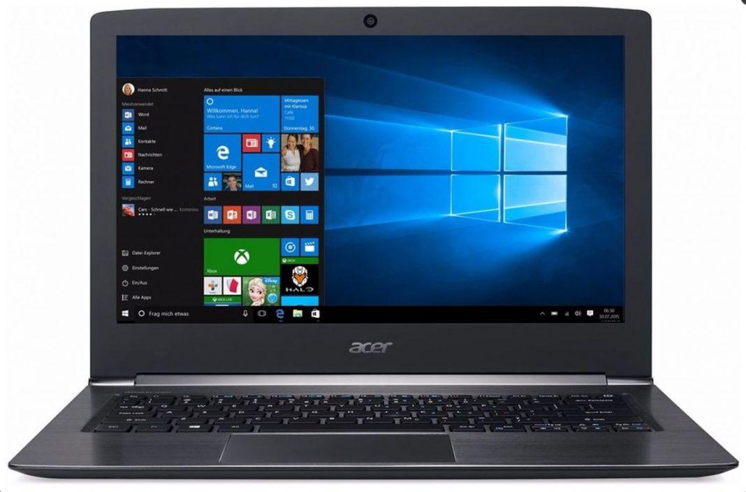 Тест ноутбука Acer Aspire S13-S5-371: дорогое универсальное устройство