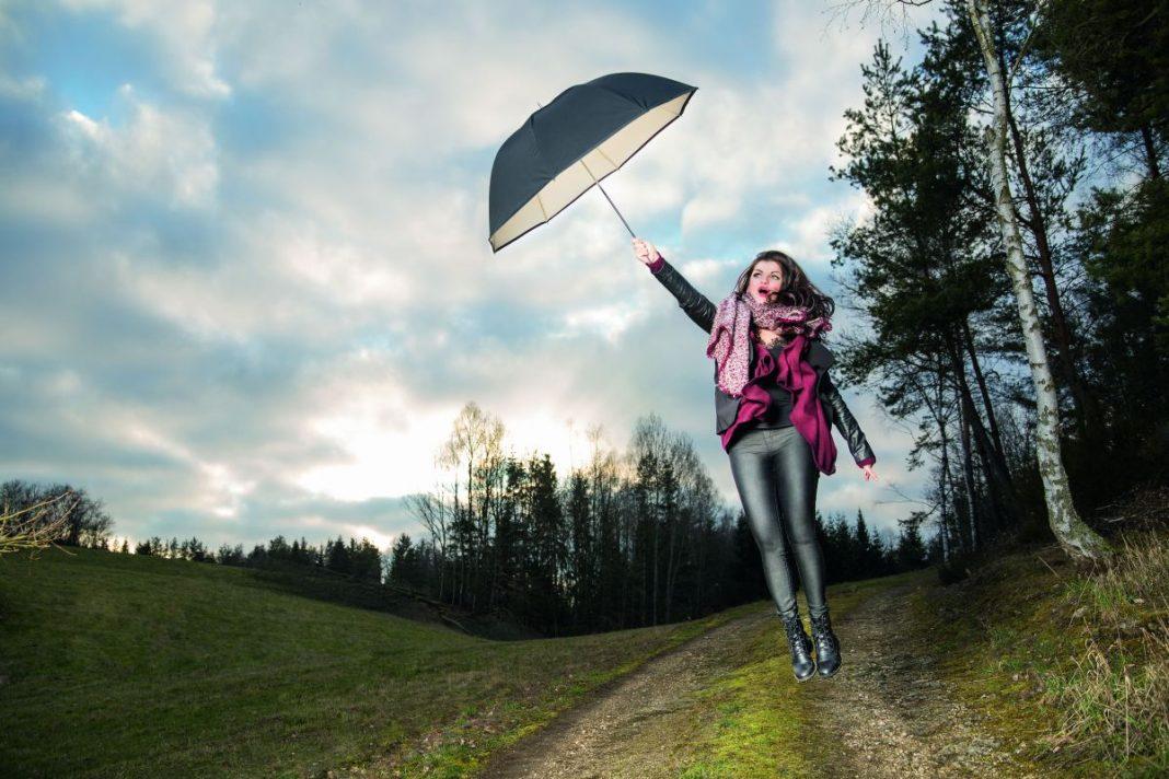 Как сделать фото парить в воздухе