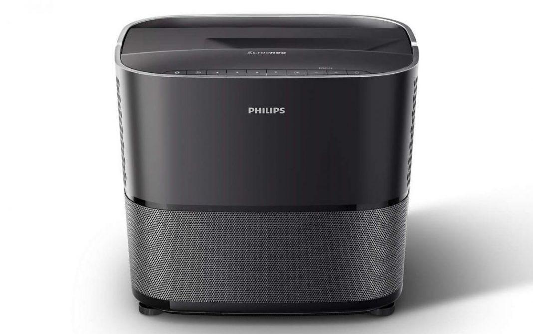 Первый взгляд на впечатляющий проектор Philips Screeneo 2.0