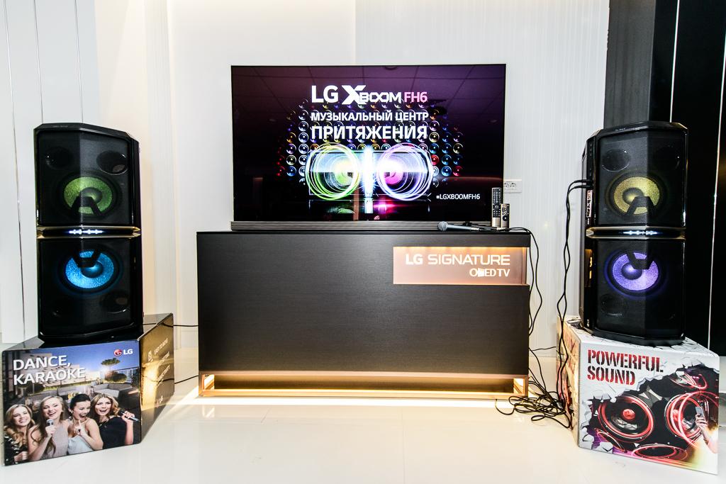 На российский рынок выходит новая аудиосистема LG XBoom FH6
