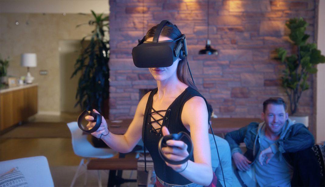 Игра в очках виртуальной реальности в помещении сменный аккумулятор для бпла mavic air