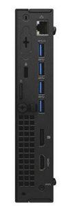 Dell OptiPlex 7040 Micro: множество разъемов на передней и задней сторонах