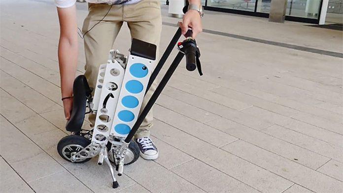 Практический тест Мега-мини-скутера URB-e