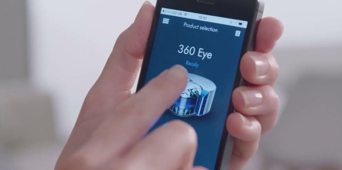 Dyson 360 Eye: очень компактный, зато немного выше, чем конкуренты