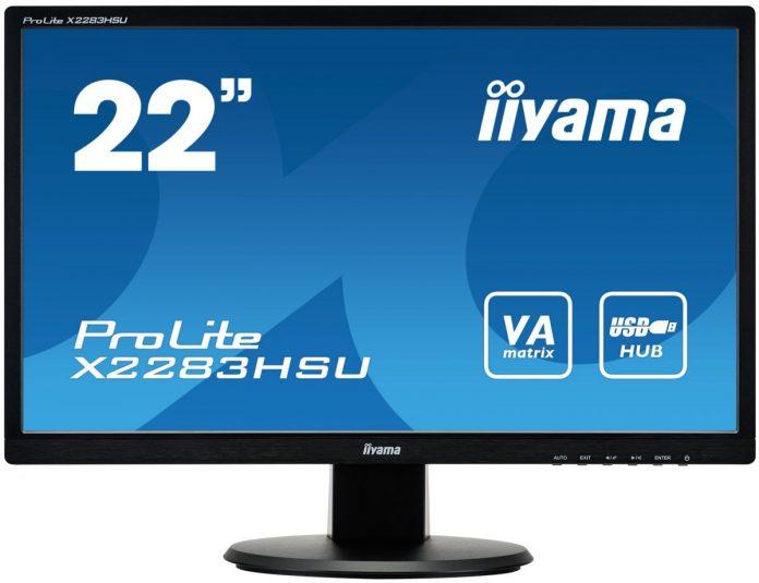 Тест монитора iiyama X2283HSU