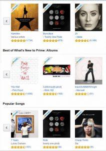 Amazon Prime Music позволяет оценивать контент