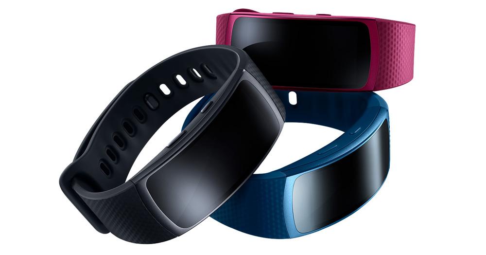 Samsung Gear Fit 2: Найдется расцветка на любой вкус.
