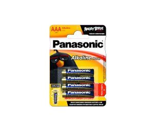 Батарейки Panasonic Angry Birds