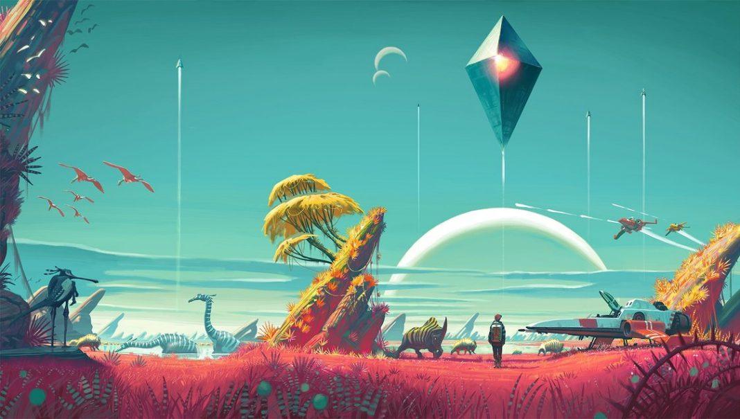 Первый взгляд на игру No Man's Sky: бессмысленность в космосе?