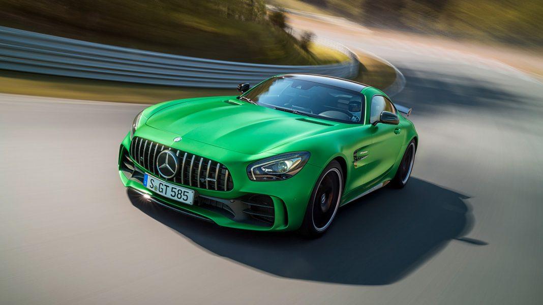 Mercedes-AMG GT R: заряженный спорткар с обновленной управляющей электроникой