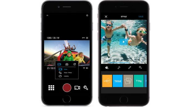 Новые приложения: «Capture» для настройки камеры, «Quik» для автоматического монтажа фильмов.