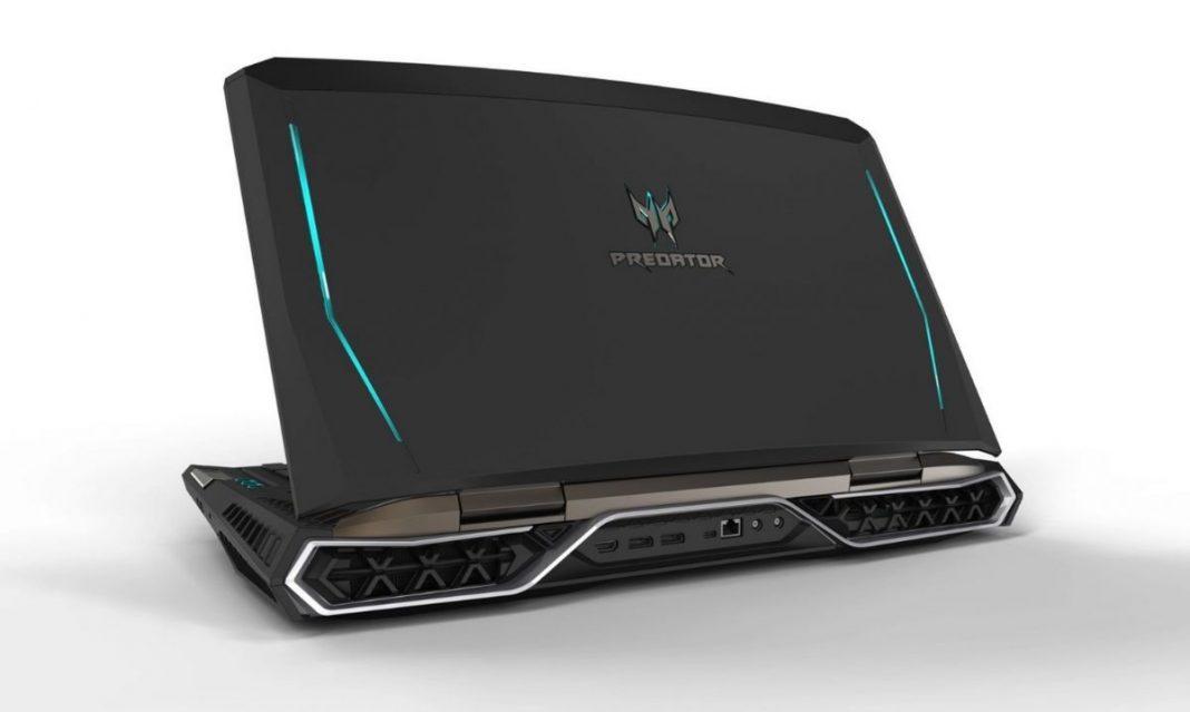 Самый быстрый ноутбук: с двумя GTX 1080 и изогнутым дисплеем